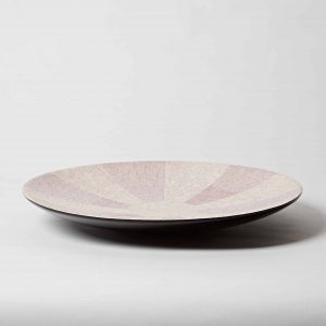 Decorative Eggshell Plate