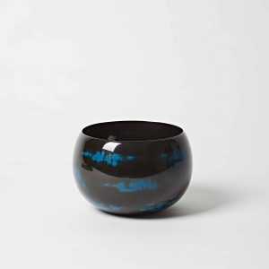 Blue Bowl, High Gloss Lacquer, Large