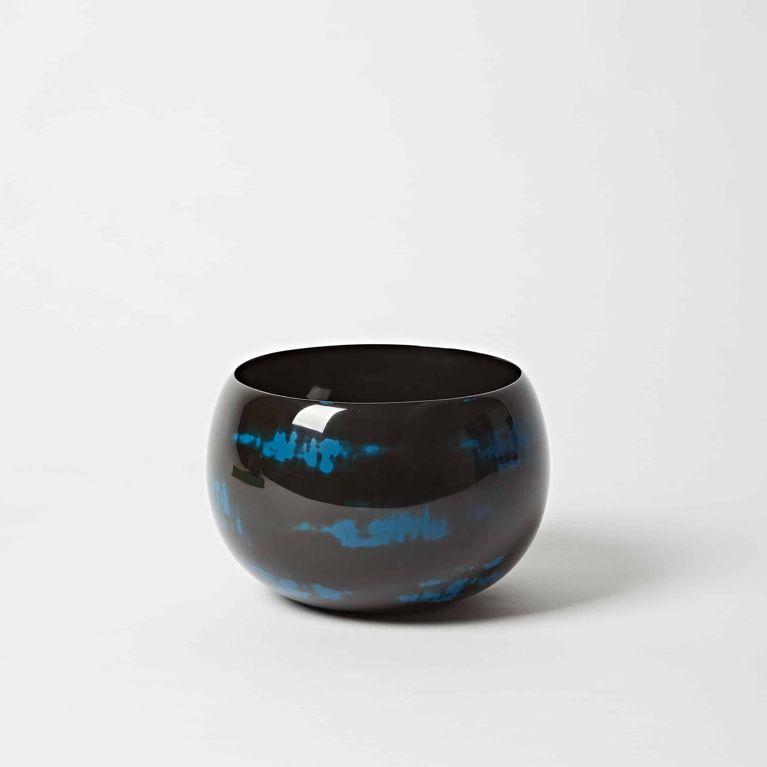 Blue Lacquer Bowl