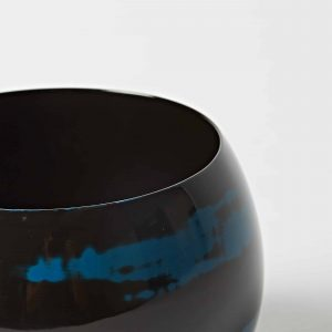 Blue Bowl, High Gloss Lacquer, Small