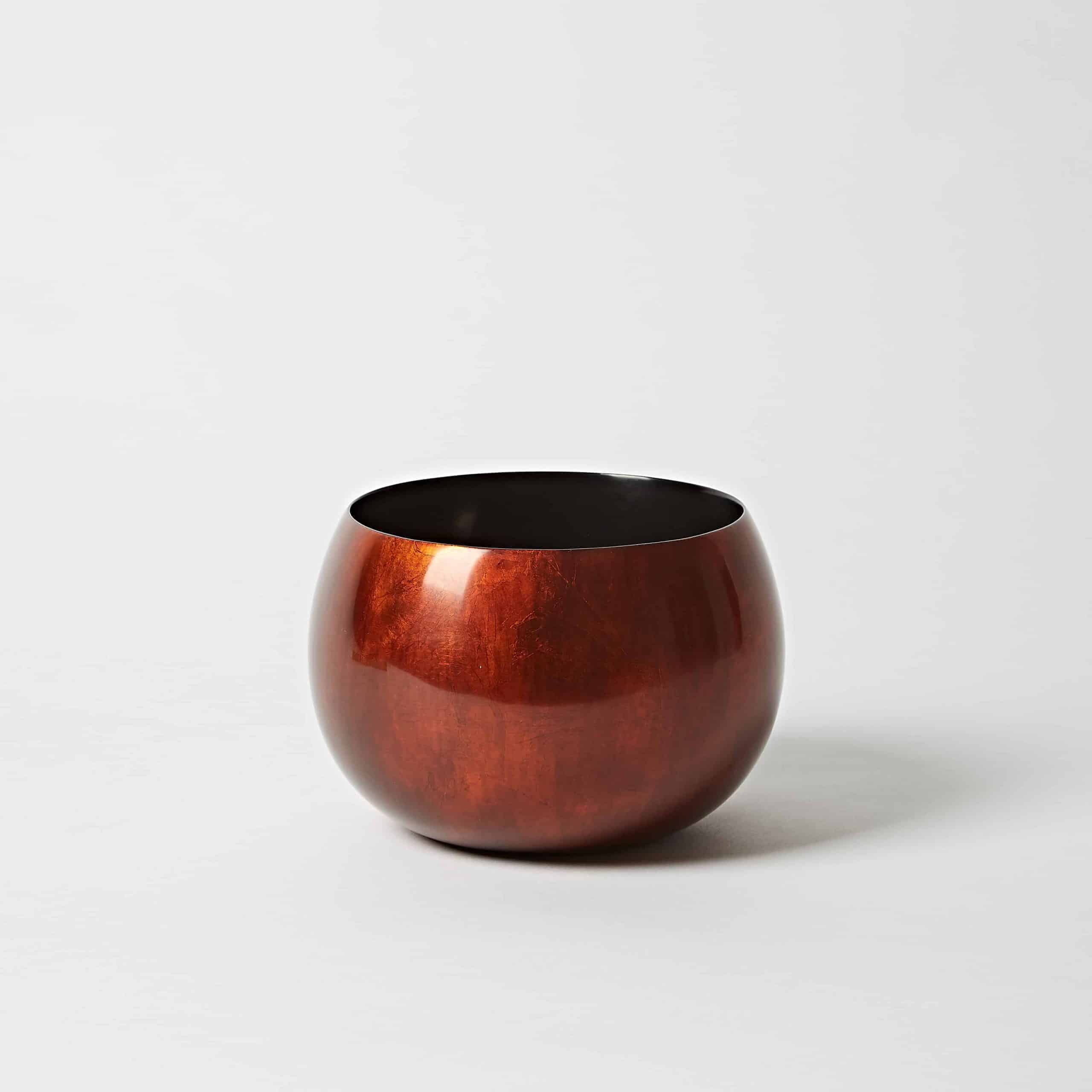 Copper lacquer bowl