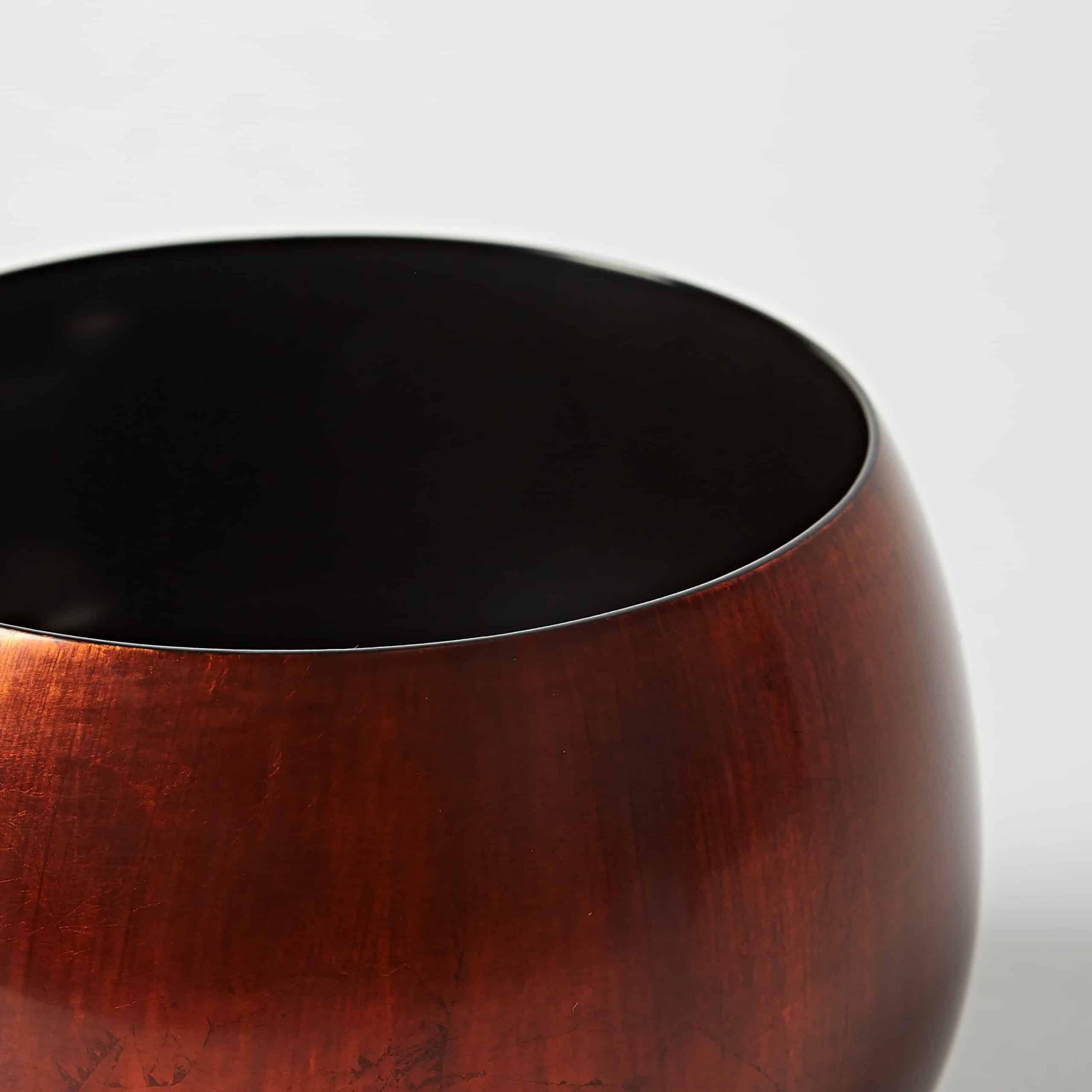 Copper lacquer bowl