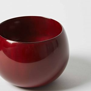 Red Bowl, High Gloss Lacquer, Small