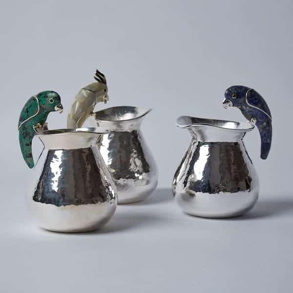 Cream jug collection