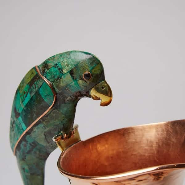 Copper Jarrita green parrot