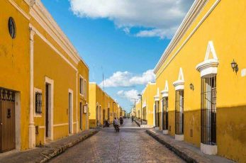 And It Was All Yellow –                             An Introduction to Izamal, Mexico