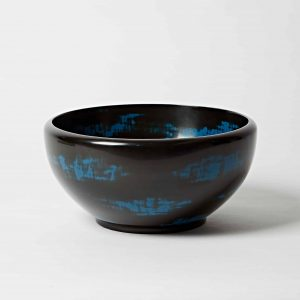 Deep Blue Lacquer Bowl