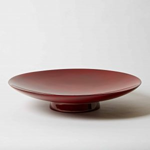 Lacquer Plate, Red,
