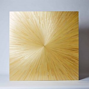 Sunburst Straw Panel, Large