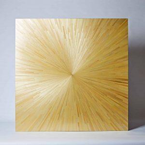 Sunburst Straw Panel, Large