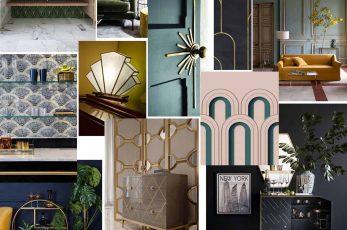 Mood-Board Inspiration – Art Deco Interiors