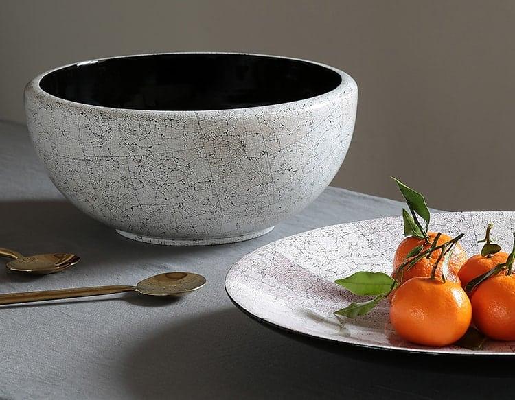 Eggshell Inlay Bowl