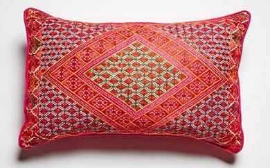 Hand made Textile Cushion