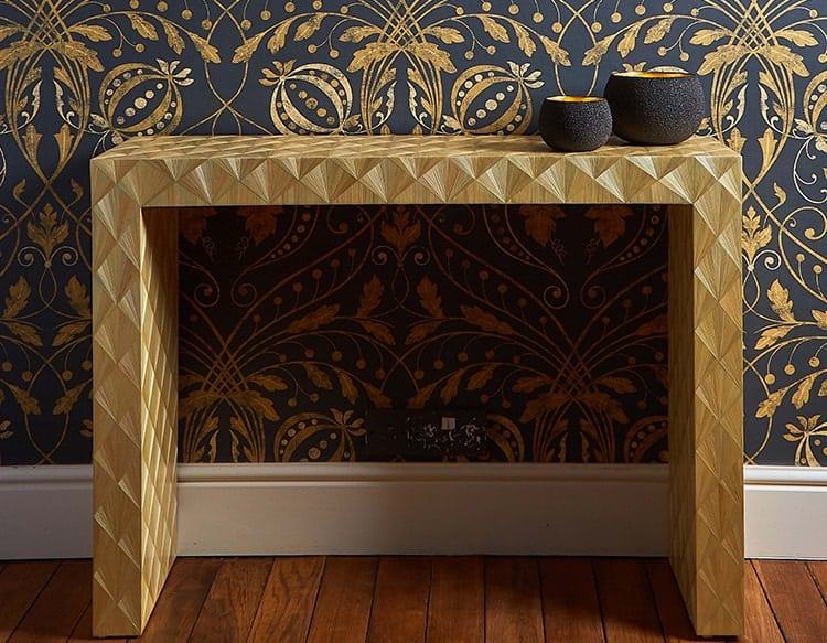 Marquetry Console