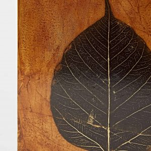 Leaf Artwork – 1 Black Leaf