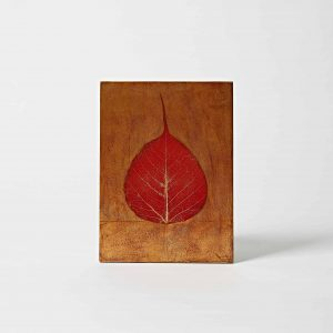 Leaf Artwork – 1 Red Leaf
