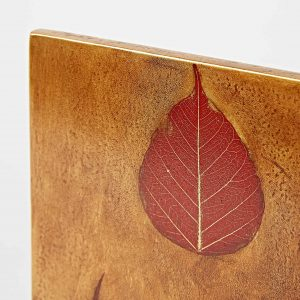 Leaf Artwork – 3 Red Leaves