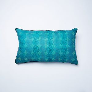 Kantha Cushion – Silk Back