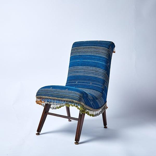 Luxury Hand-Made Slipper Chair