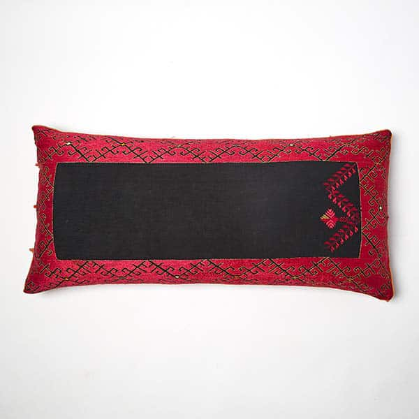 Luxury Silk Embroidered Cushion
